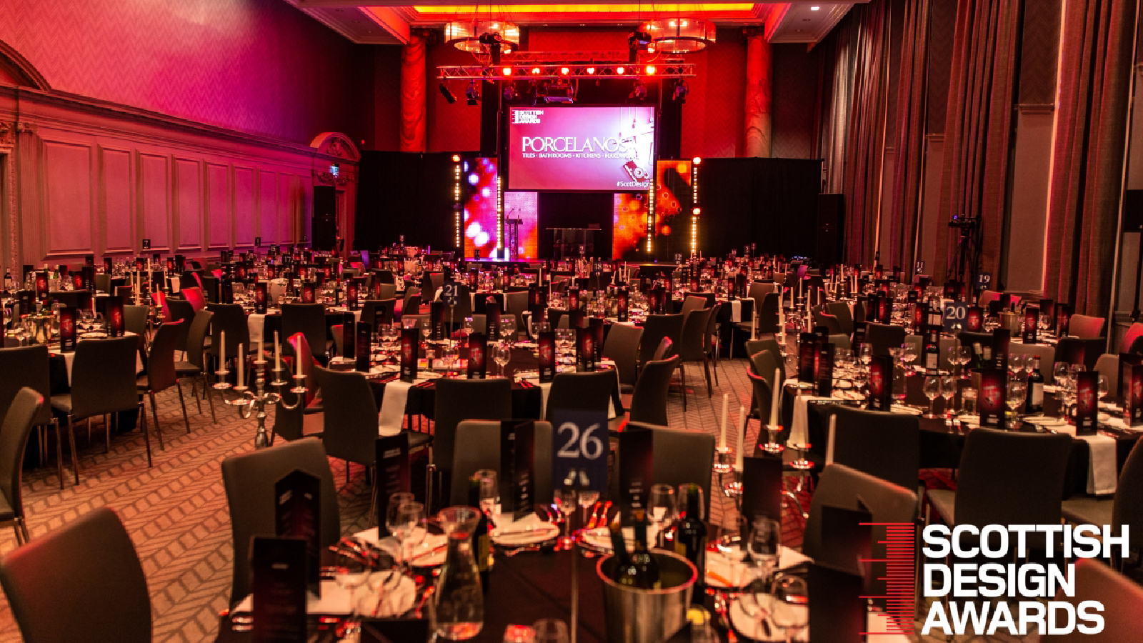 PORCELANOSA Scotland sponsors the Scottish Design Awards