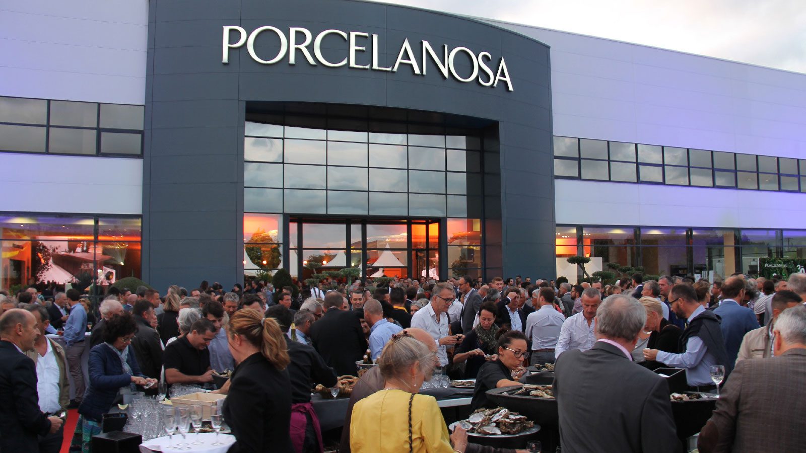 The PORCELANOSA Group celebrates its 30th anniversary in Strasbourg and in Nantes, France