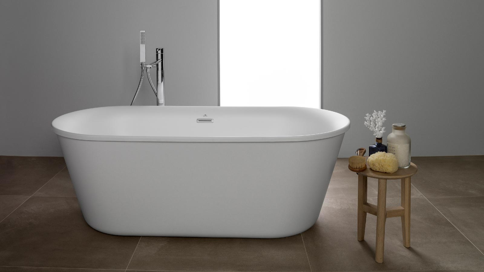 White matt: Aesthetic serenity for bathrooms with personality