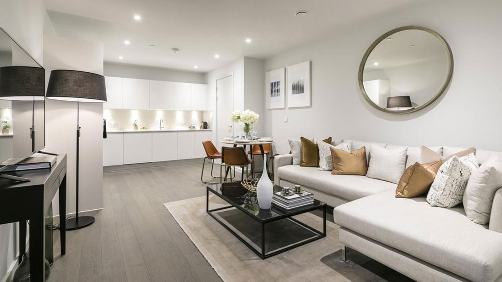PORCELANOSA Grupo projects: minimalist apartments in the centre of London