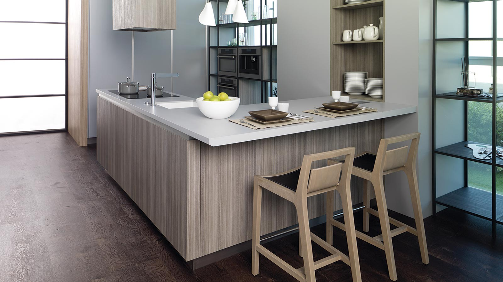 Five essential kitchens from the PORCELANOSA Group for this summer