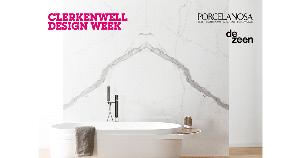 Dezeen in conversation with Porcelanosa and friends at Clerkenwell Design Week 2017