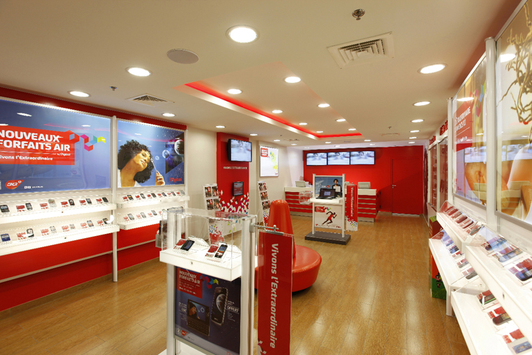 PORCELANOSA Group Projects: Digicel telephone shops in the Caribbean