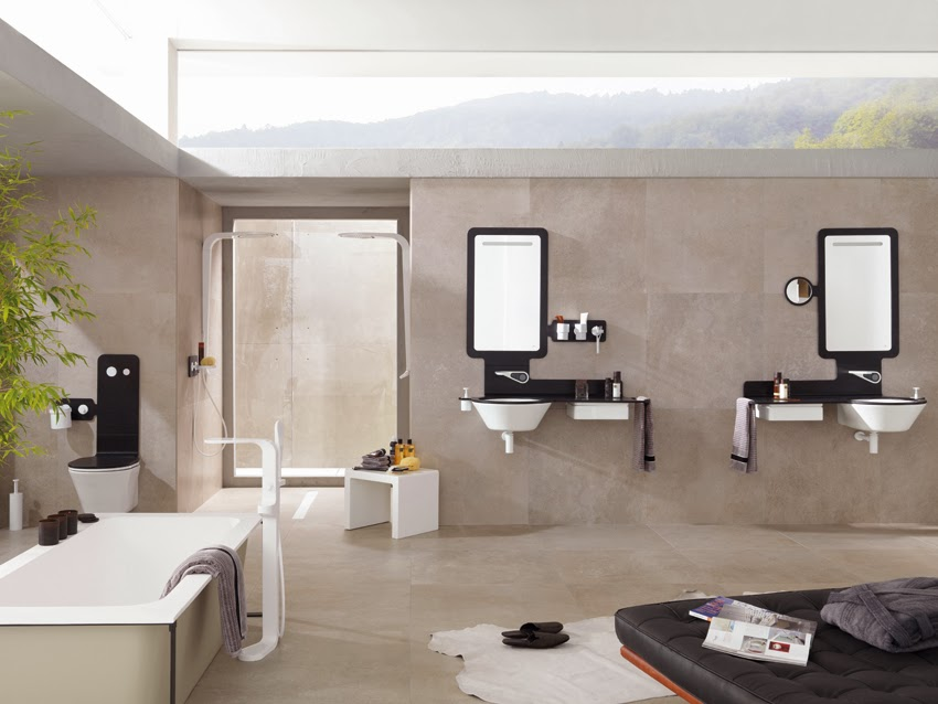 Portland, cement-like ceramic by Porcelanosa