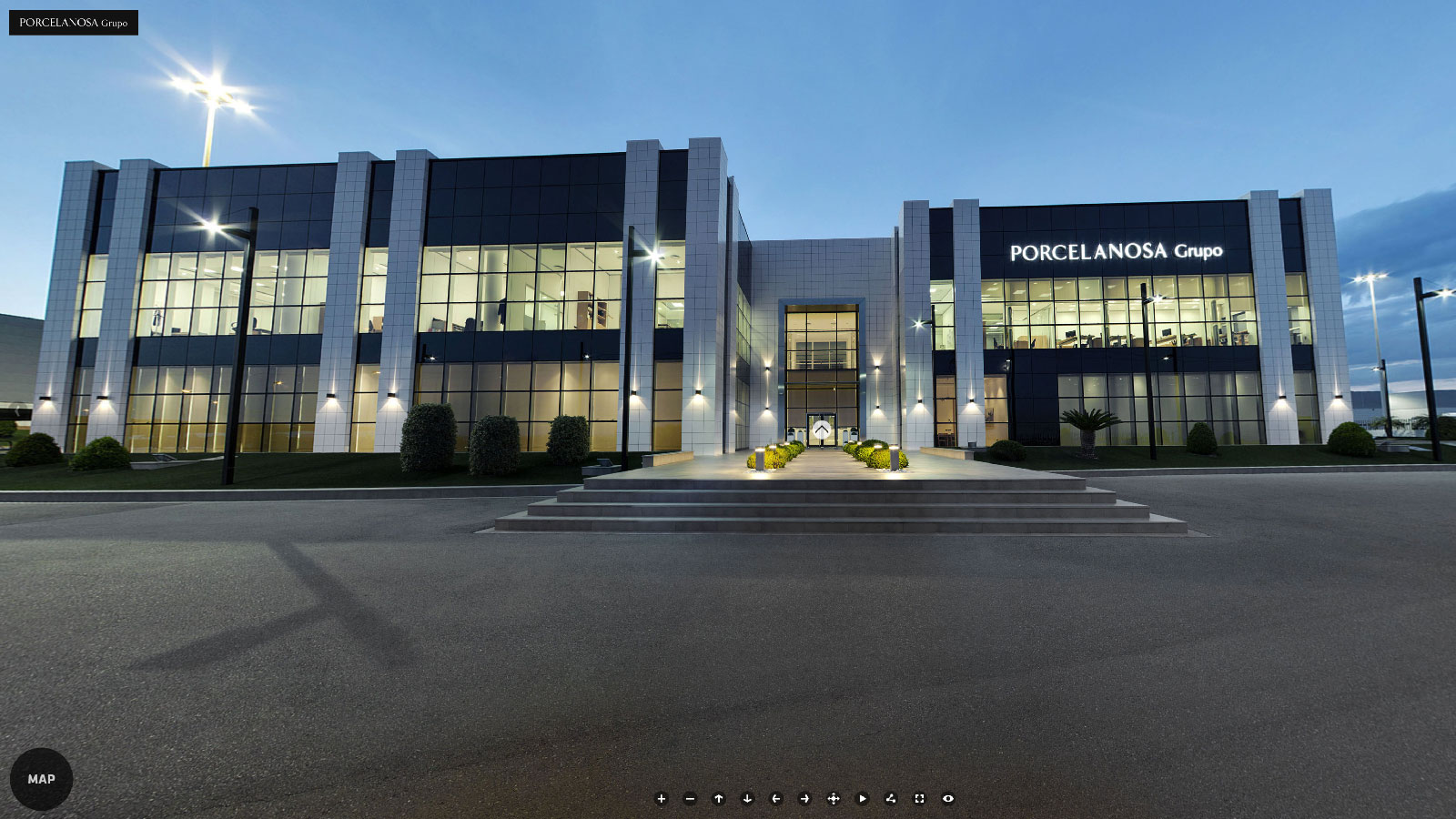The PORCELANOSA Grupo reinforces its online presence with a new virtual tour