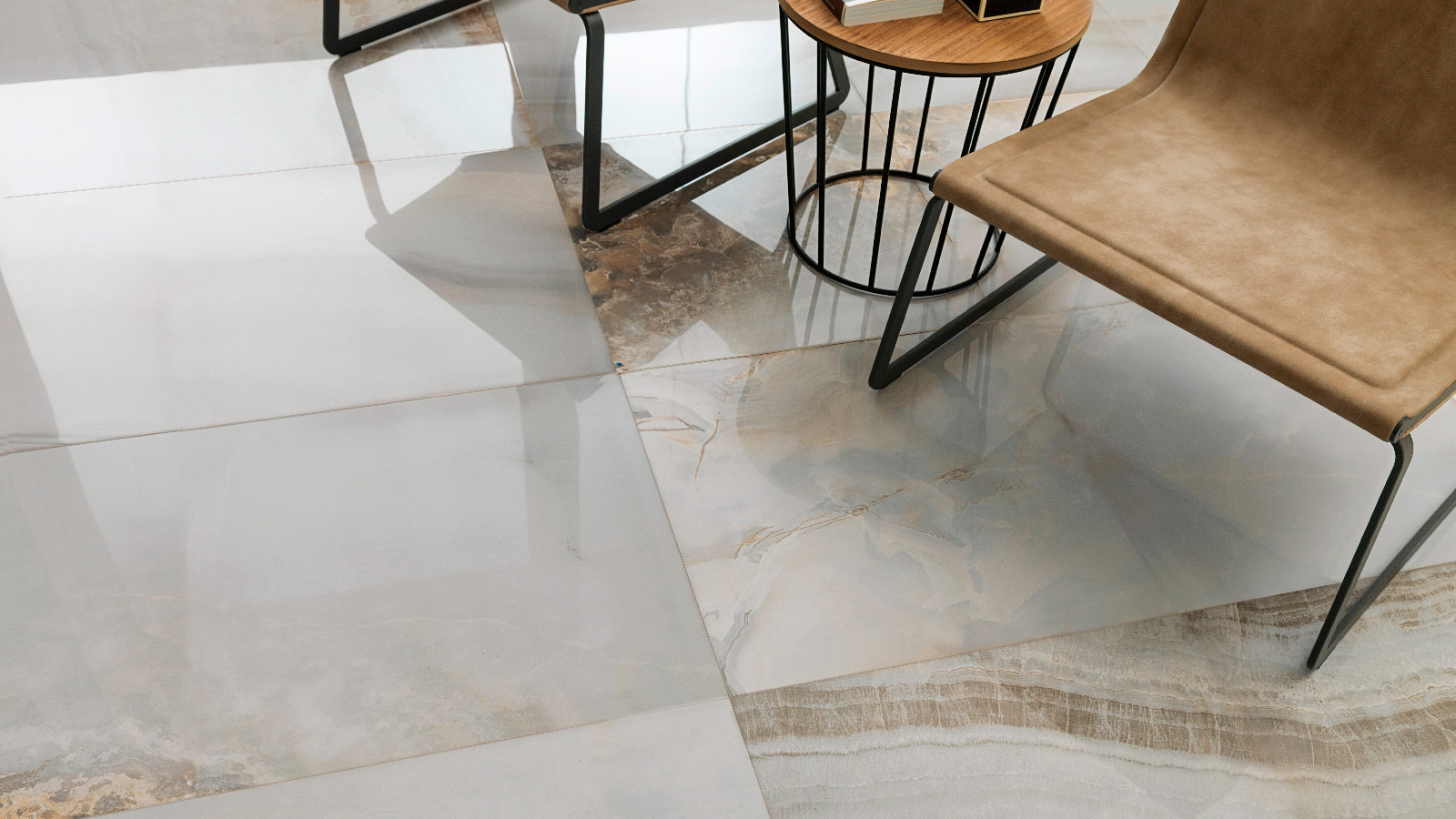 Porcelanosa recovers the sobriety of marble in its new ceramic series