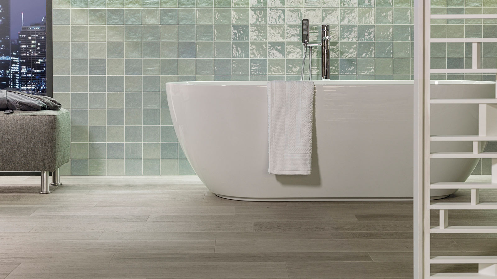 Forest by Porcelanosa has the ISO 14021 certification because of its  environmental commitment