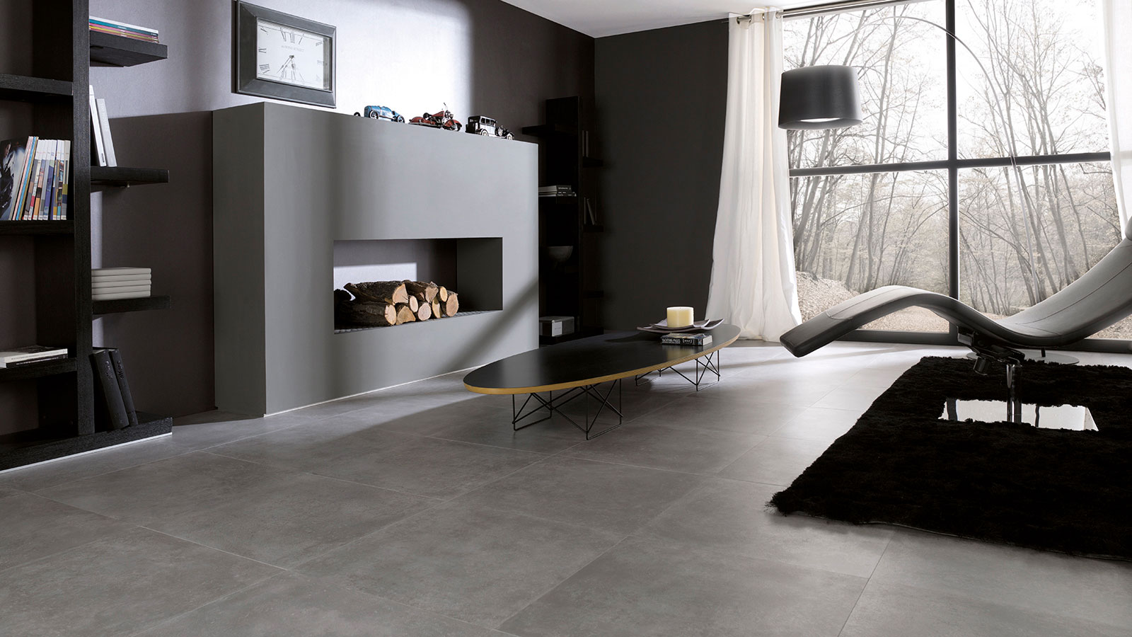 Rhin, the ceramic collection by Venis inspired by cement