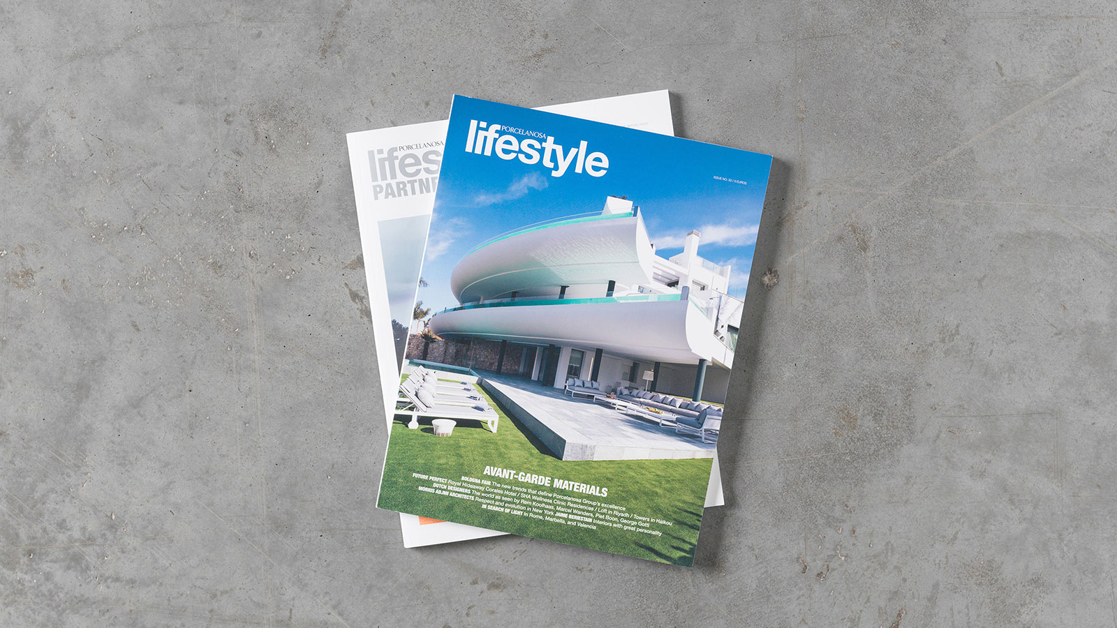 The new issue of the Lifestyle magazine: Avant-garde architecture and new ceramic designs for 2019