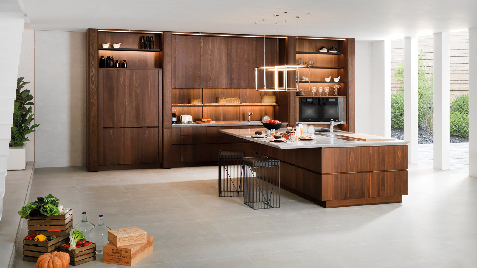 The latest innovations at the 26th PORCELANOSA Group International Exhibition  Smart kitchens and cutting-edge bathrooms by Gamadecor define the future
