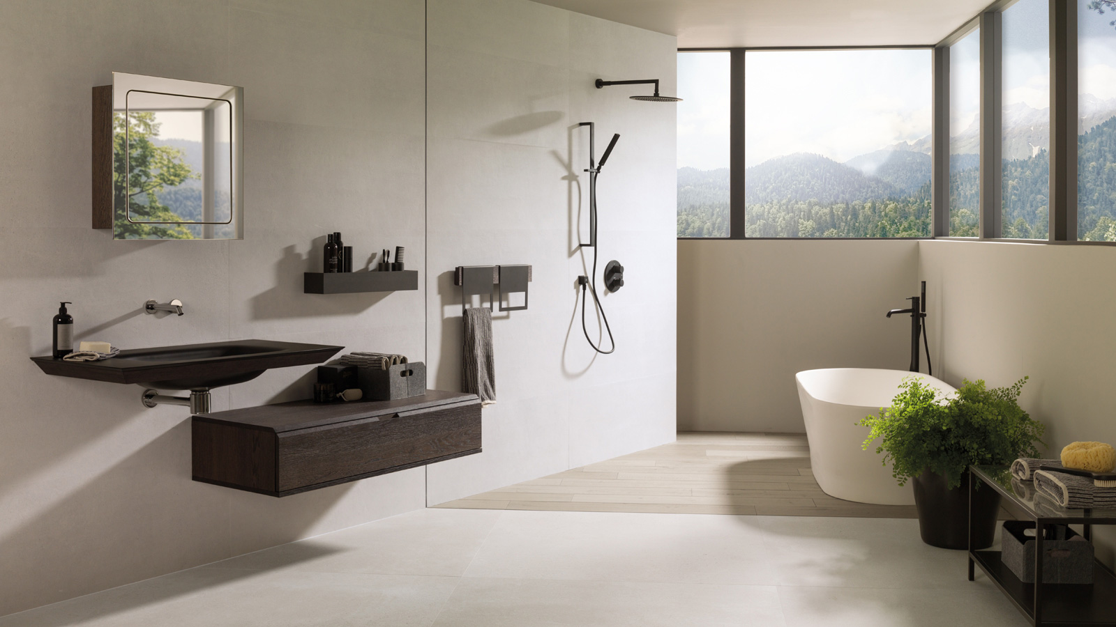 The elegance of shade variation: Bottega White by Porcelanosa