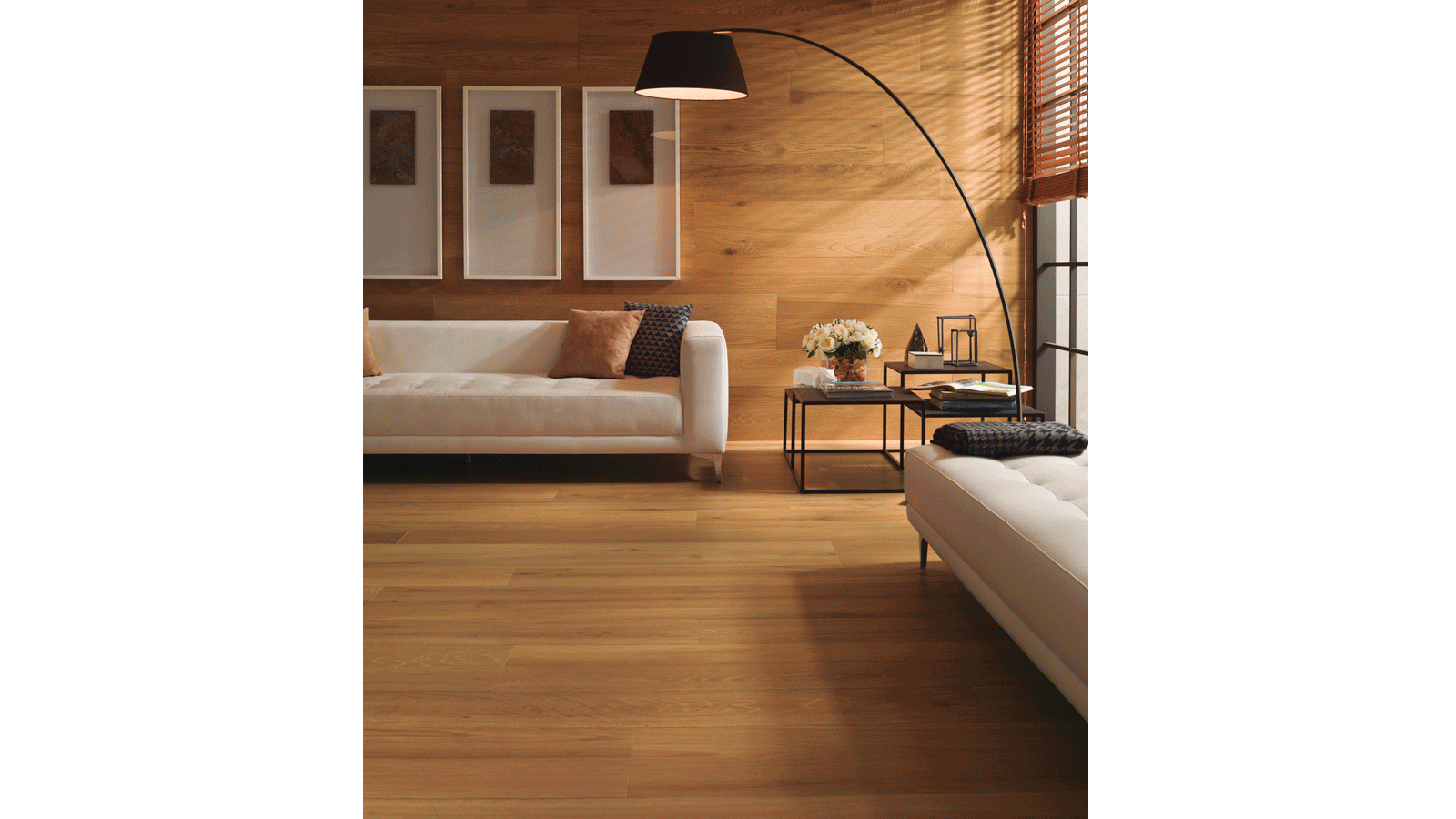 Porcelanosa joins the sobriety of wood and Premium ceramic with Nobu