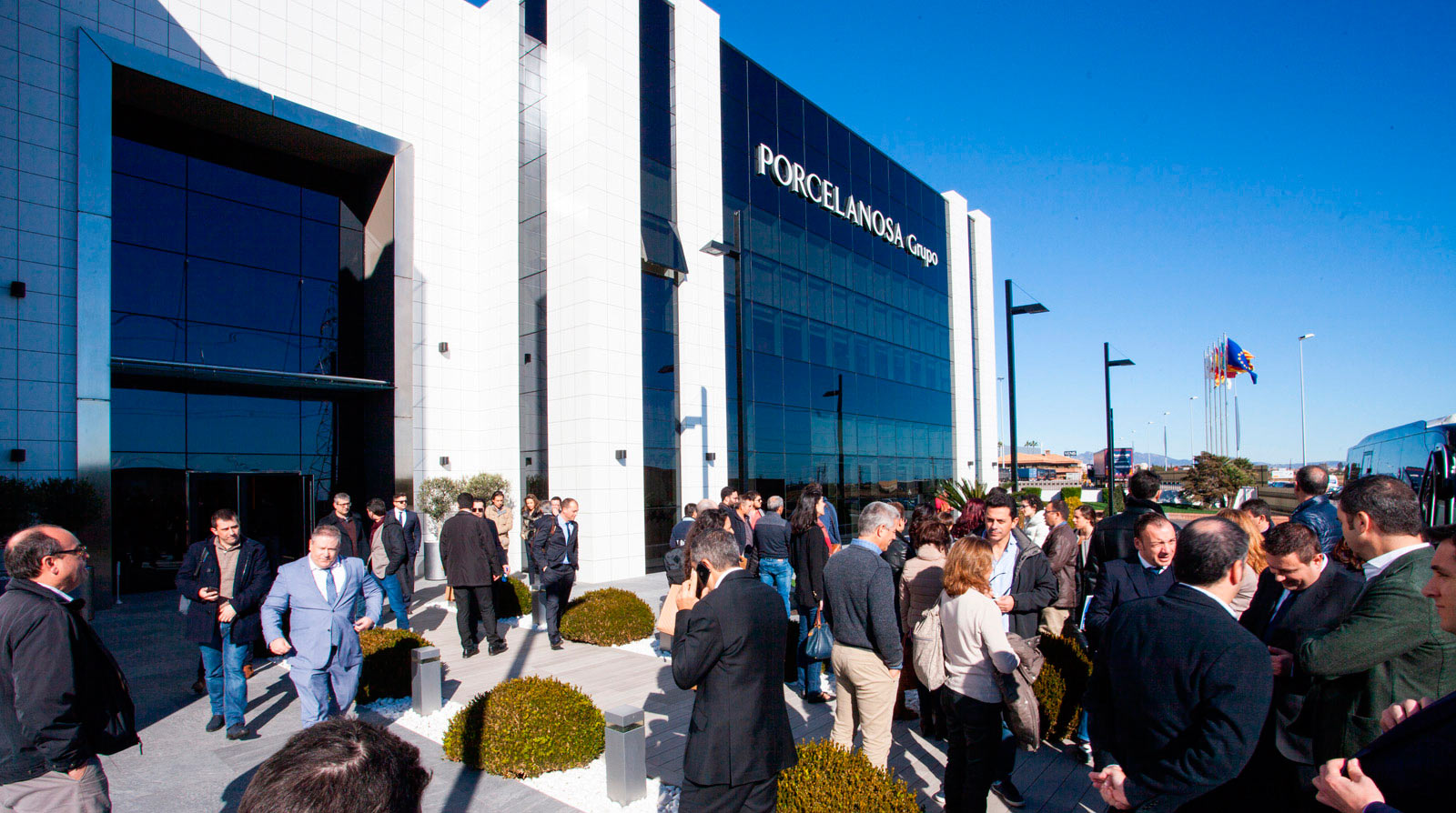 Le groupe PORCELANOSA conclut son XXVIe salon international avec plus de 12 000 visiteurs