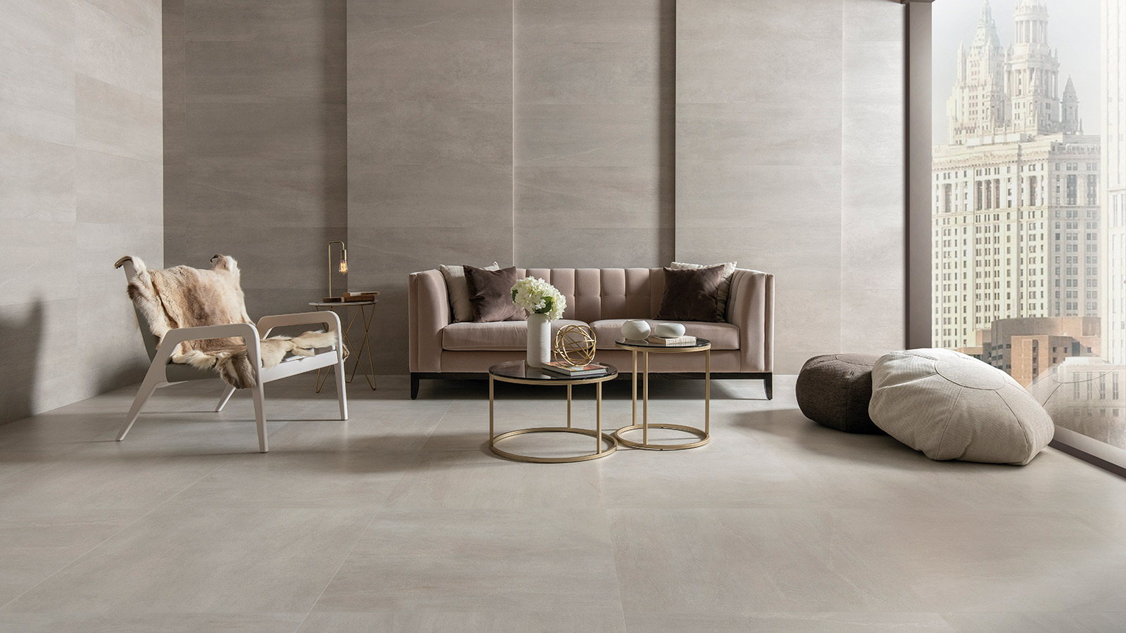 Venis brings stone and cement together in its new Urban collection