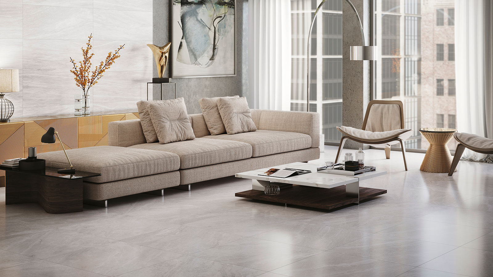 Breccia marble rejuvenates with the Indic collection from Venis