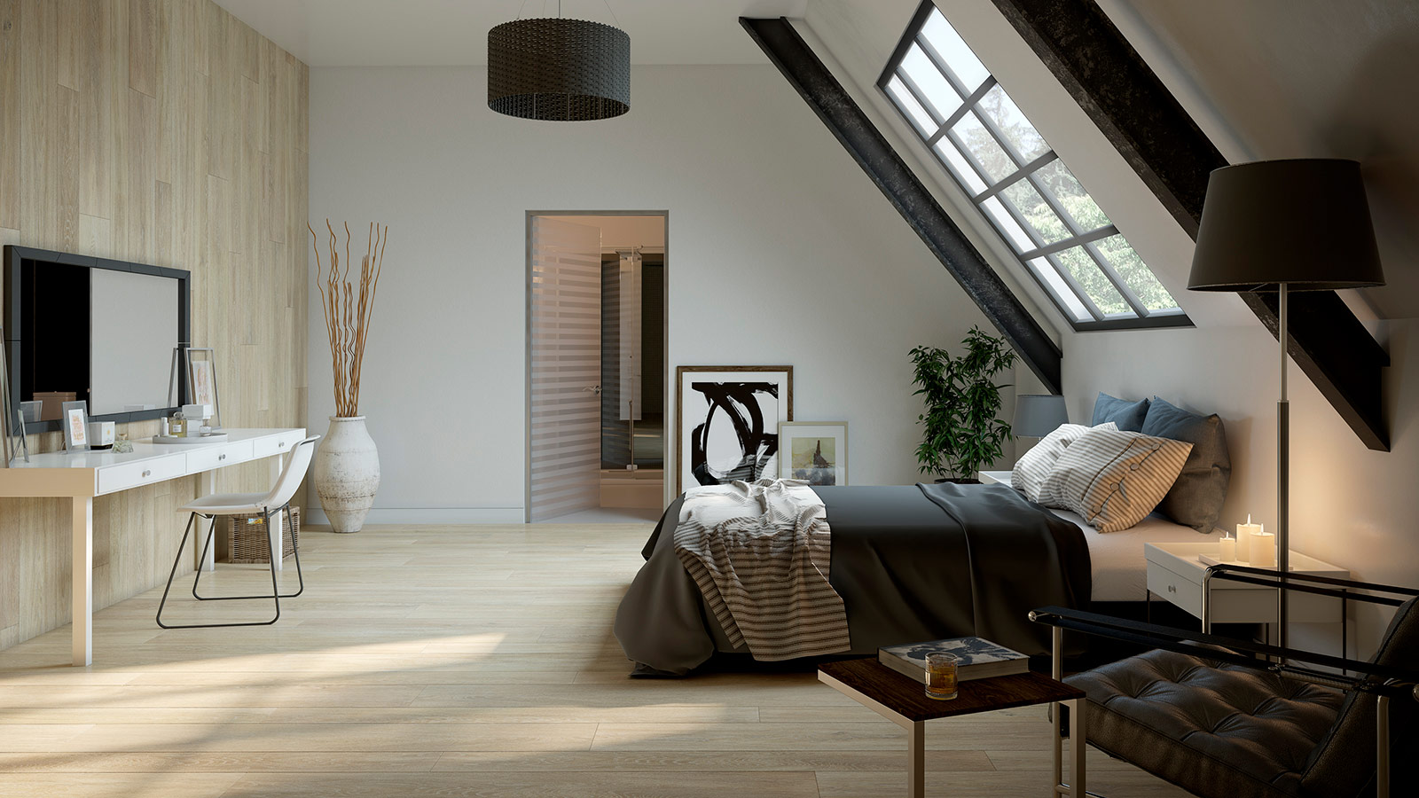 Starwood, a rustic touch for attics