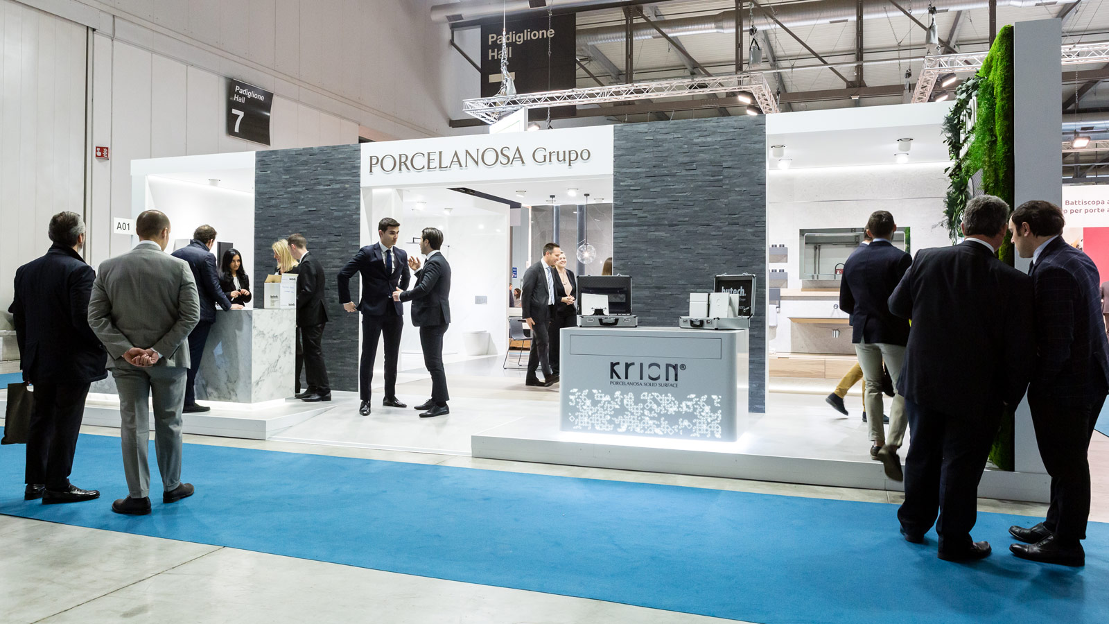 The new collections from the PORCELANOSA Grupo set the trends at the  MADE Expo Milan 2019