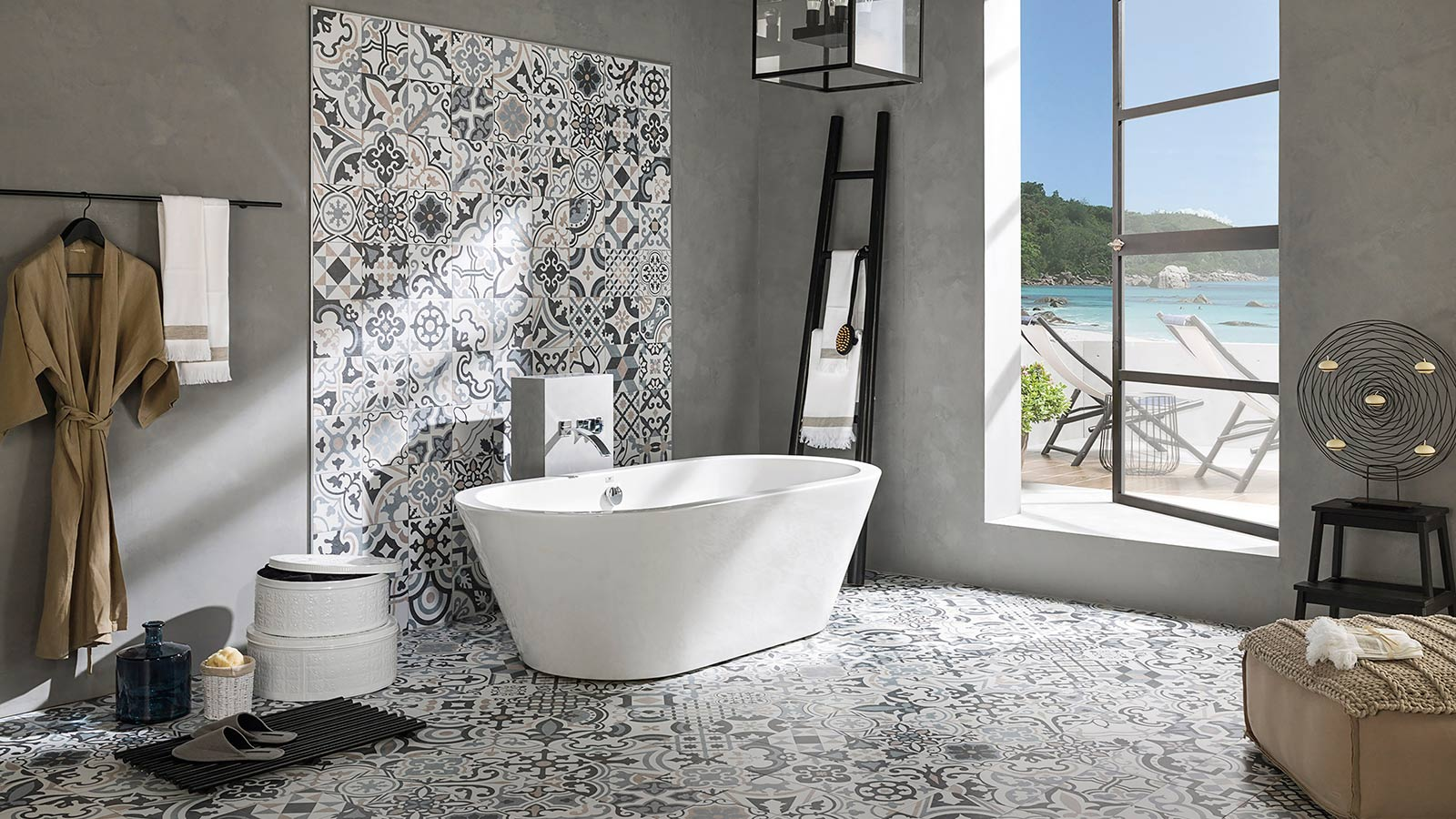 The magic of Moroccan Tiles