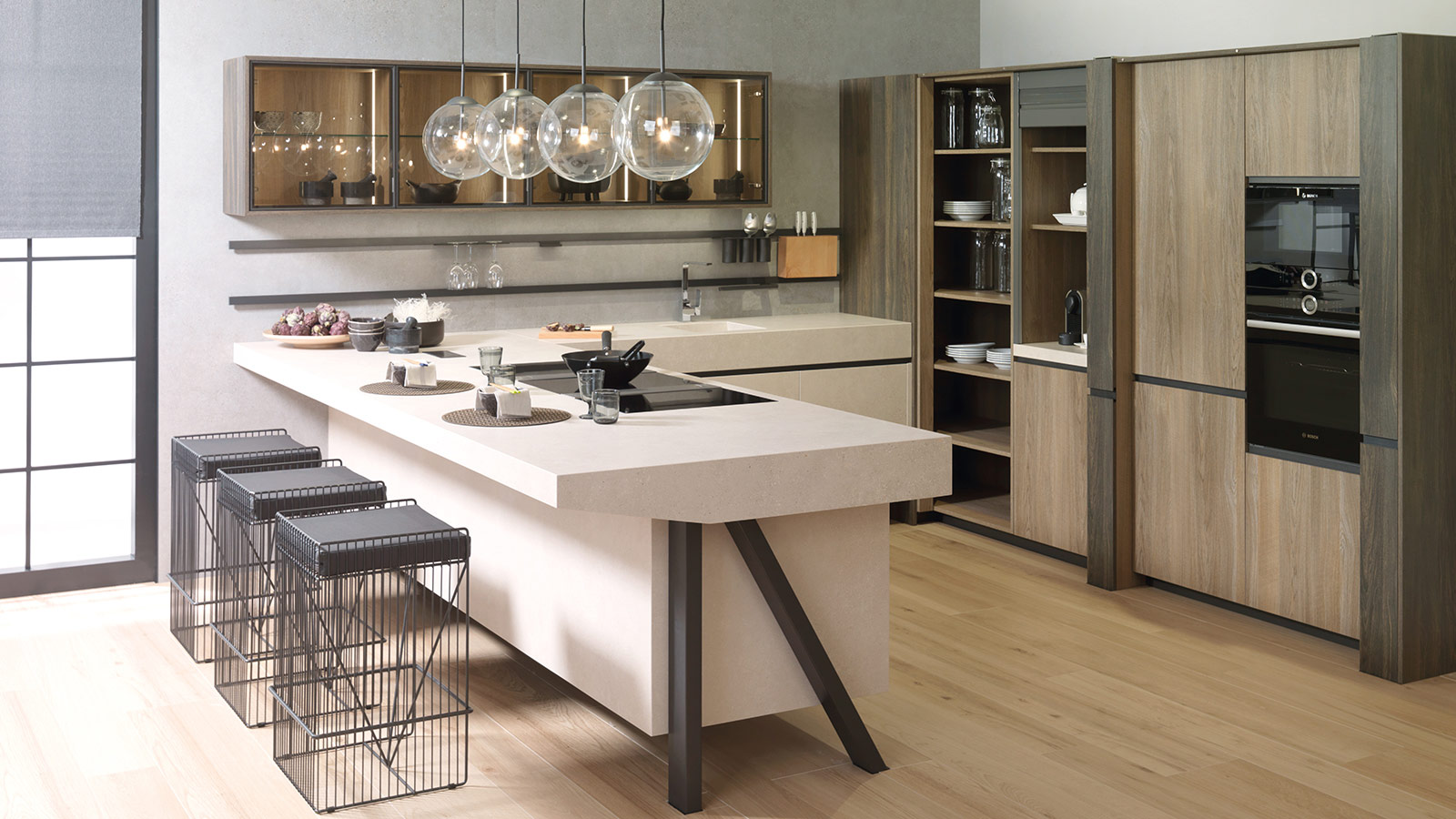 Cocina-E9.30-Xlight-Bottega-Caliza-Silk,-E2