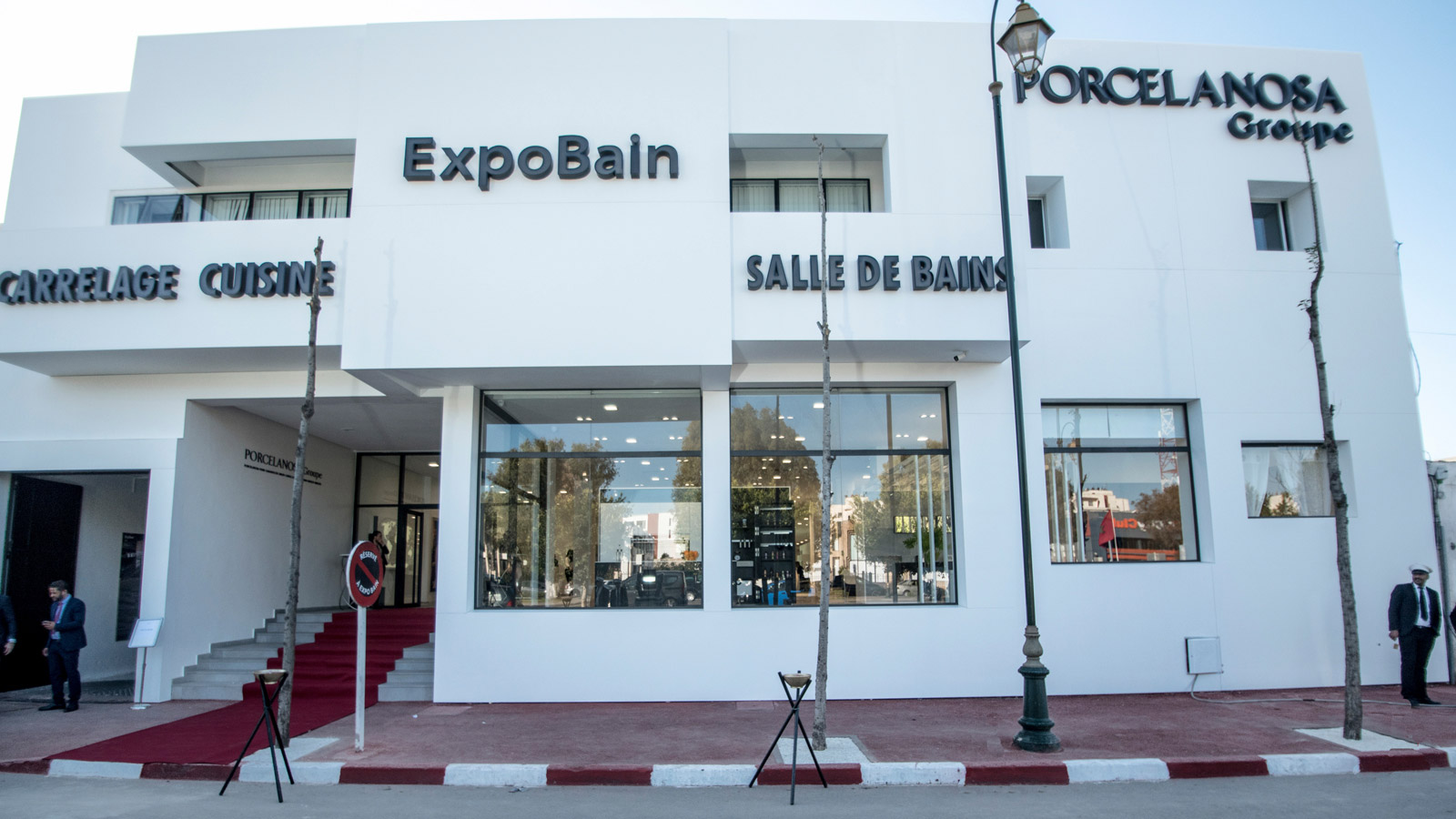 PORCELANOSA Grupo opens a 1400m² showroom in Rabat