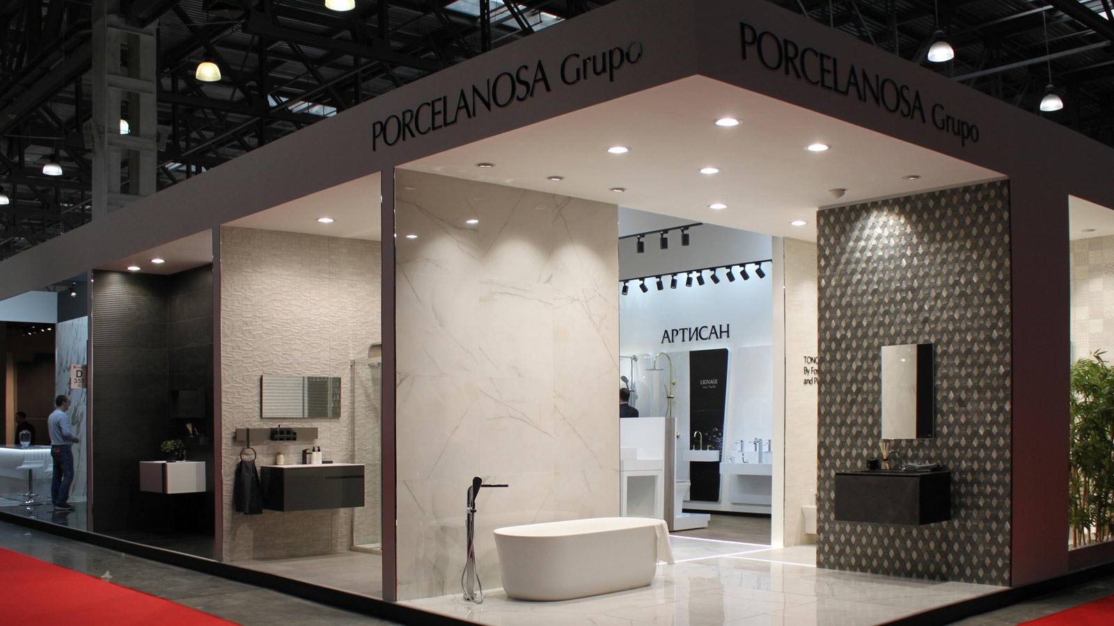 PORCELANOSA Grupo attends the MosBuild 2019 Exhibition Fair in Moscow