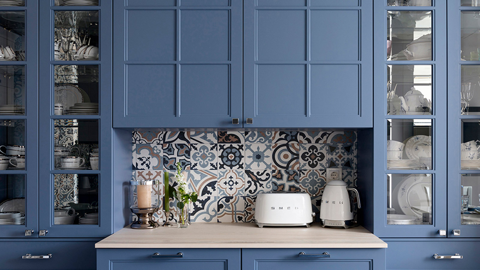 Why Blue Cabinets Are a Must for Your Kitchen