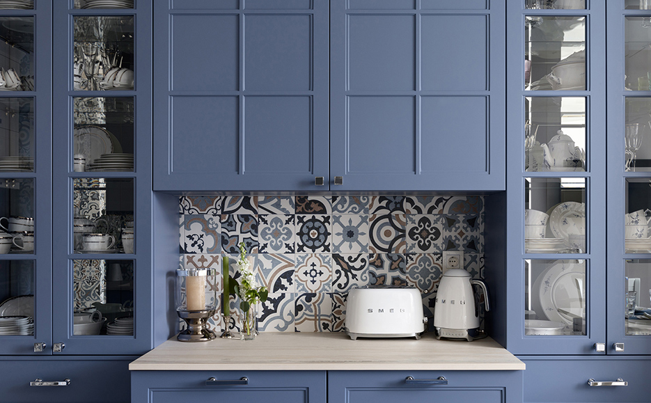 Blue cabinetes ideas