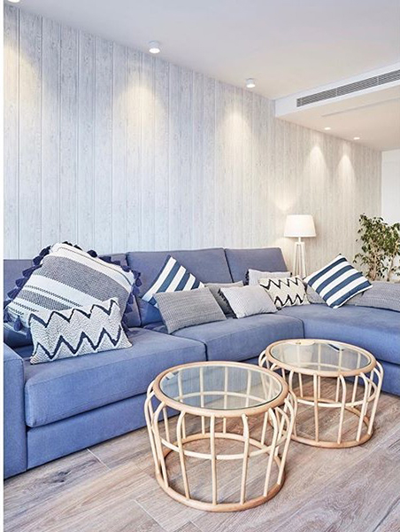 Summer House Ideas for the living room