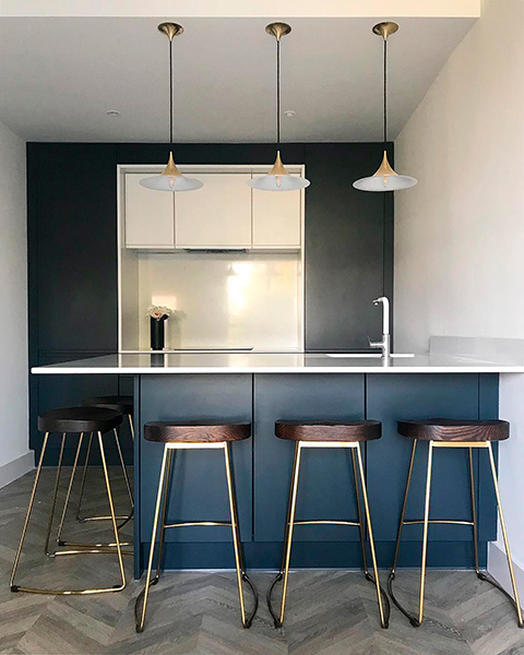 blue cabinets ideas