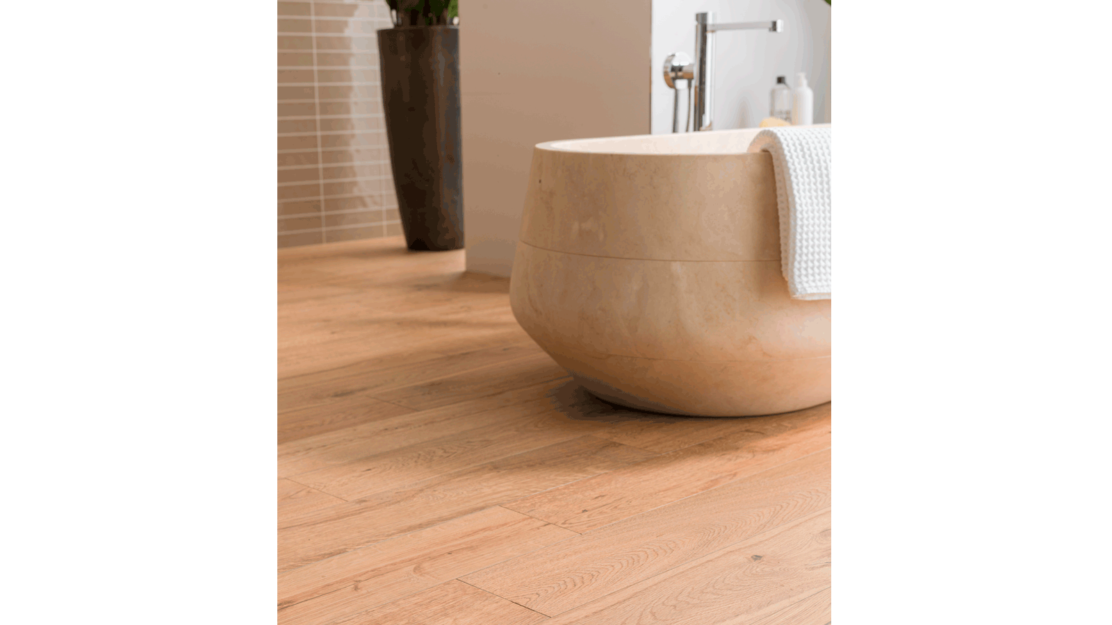 Par Ker Wood Inspired Bathrooms With The Porcelanosa Seal