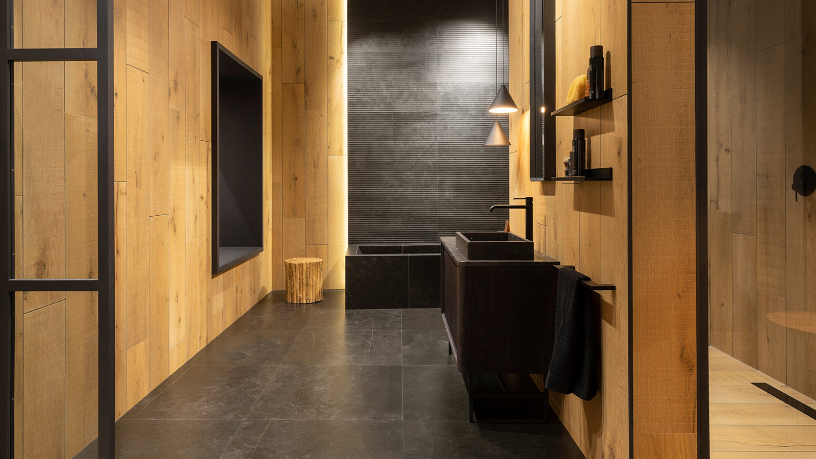 Starwood-Vancouver-Honey+Magma-Black-Venis-Porcelanosa