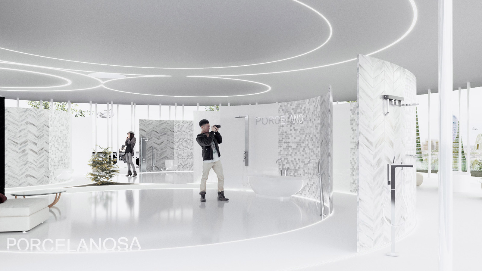 "The 12th Porcelanosa Awards Finalists: ""Motion"". A project which comes from the future"