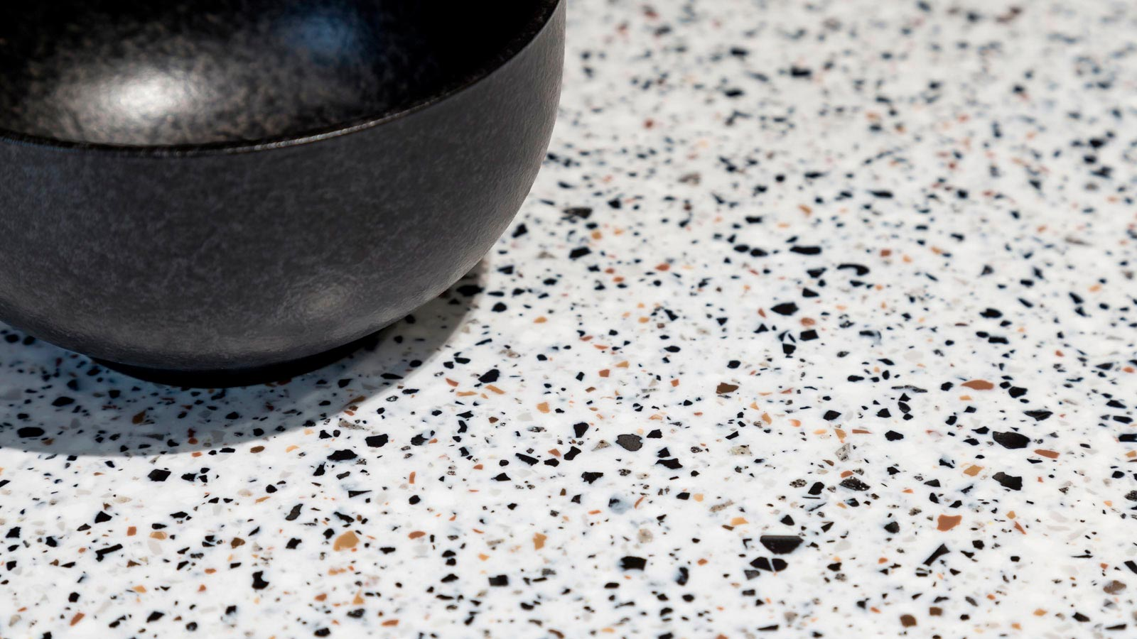The trend for lightly marbled surfaces in the home