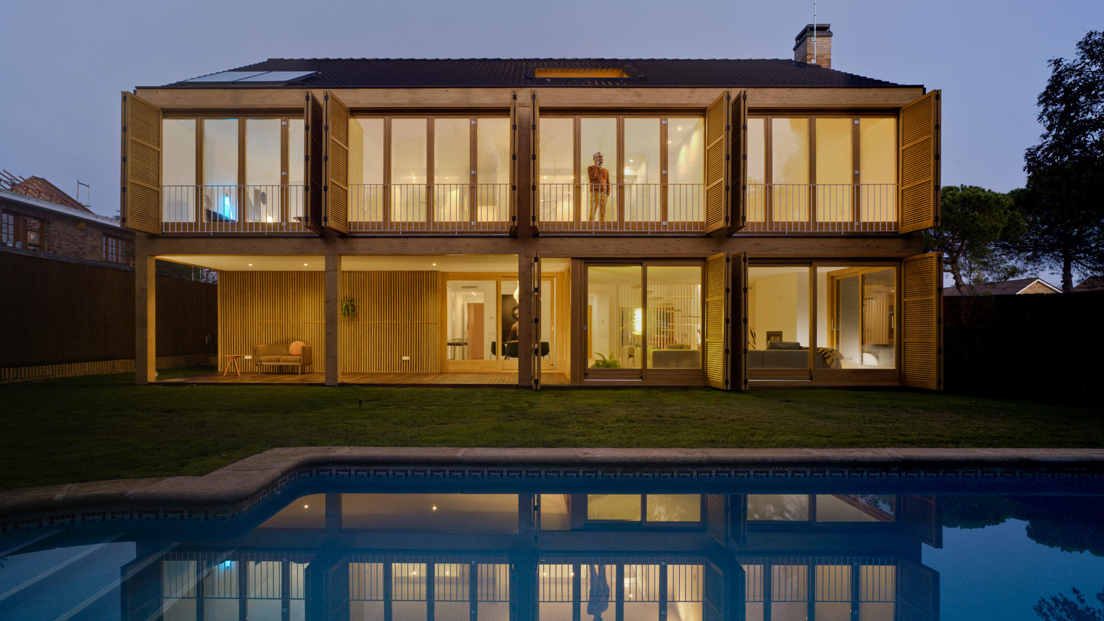 PORCELANOSA Grupo Projects: elegance and sustainability in a house in La Moraleja