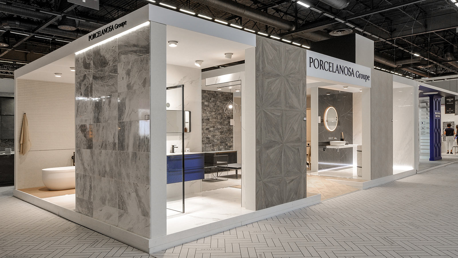 PORCELANOSA Grupo leads the way in France at the Maison & Objet  and París Design Week fairs