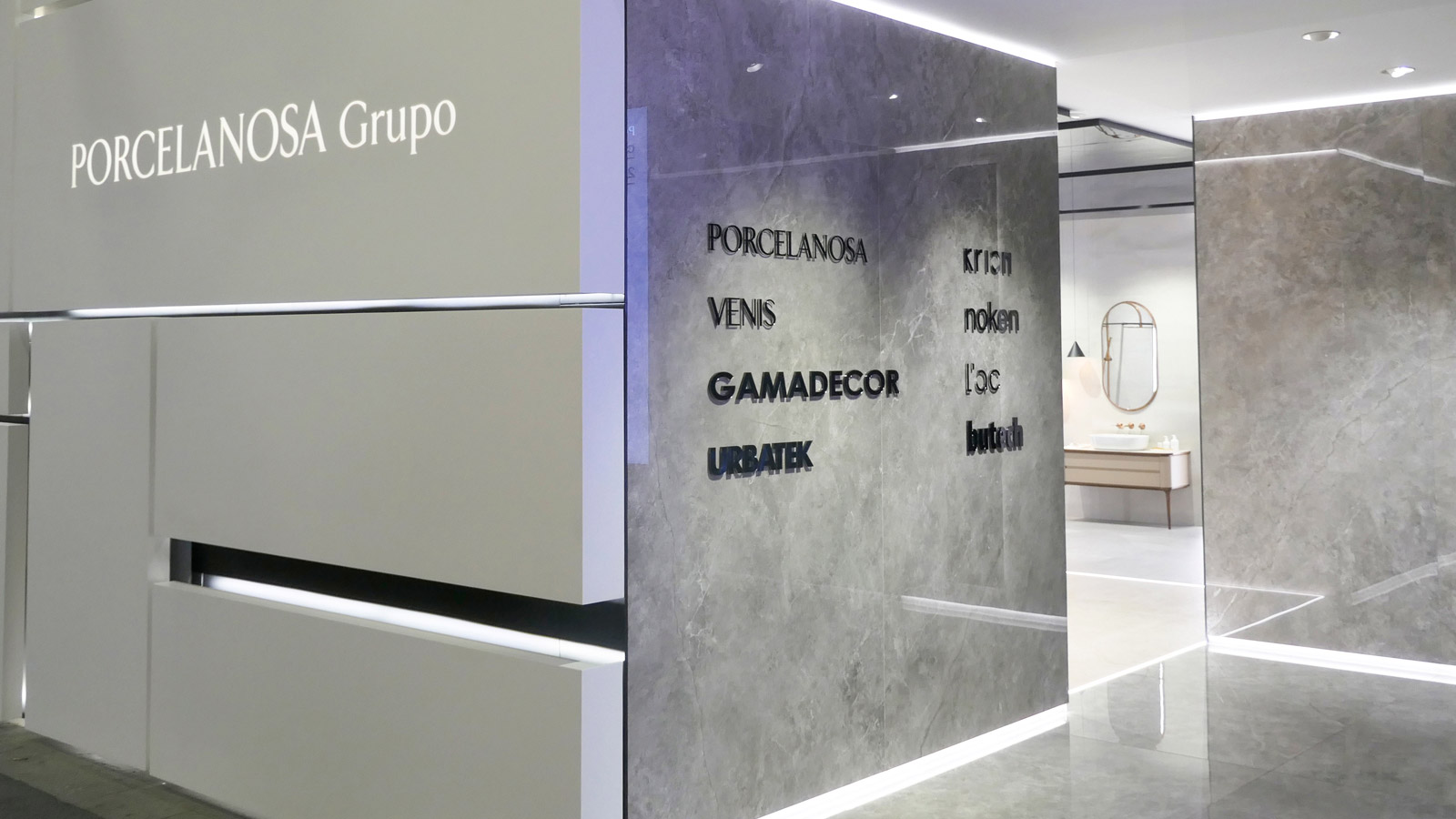 PORCELANOSA Grupo strengthens its presence at Cersaie 2019 through a smart and sustainable design