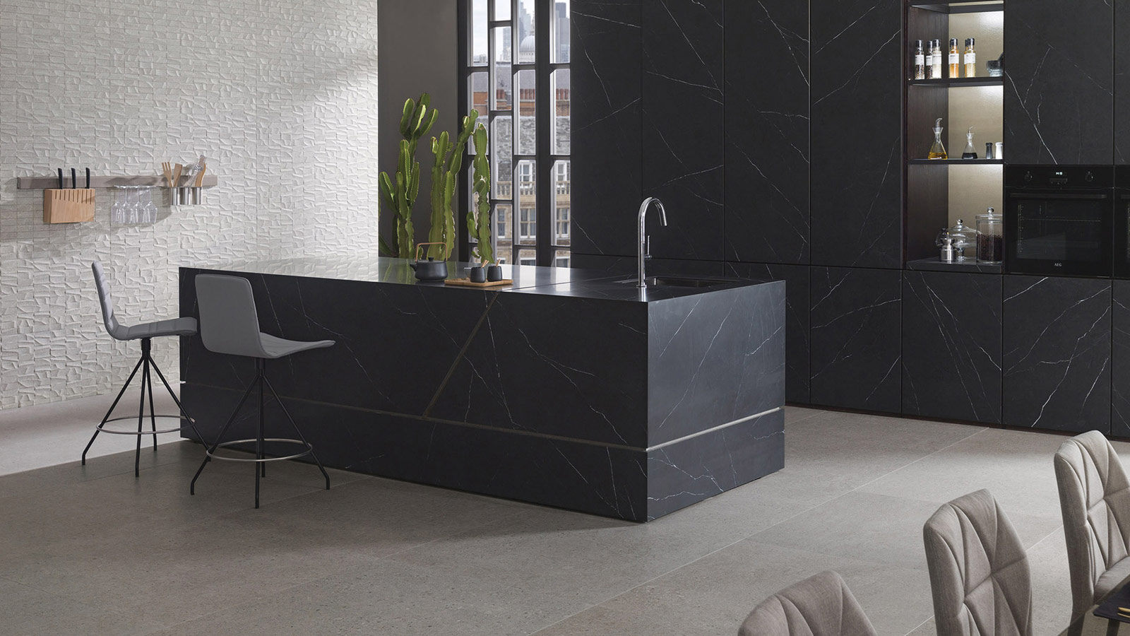 Prada by Porcelanosa, a sophisticated collection based on natural stone