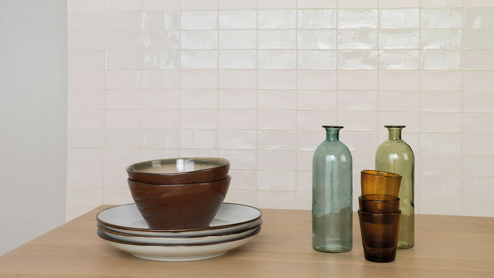 Tile matching, mix and match for walls and flooring