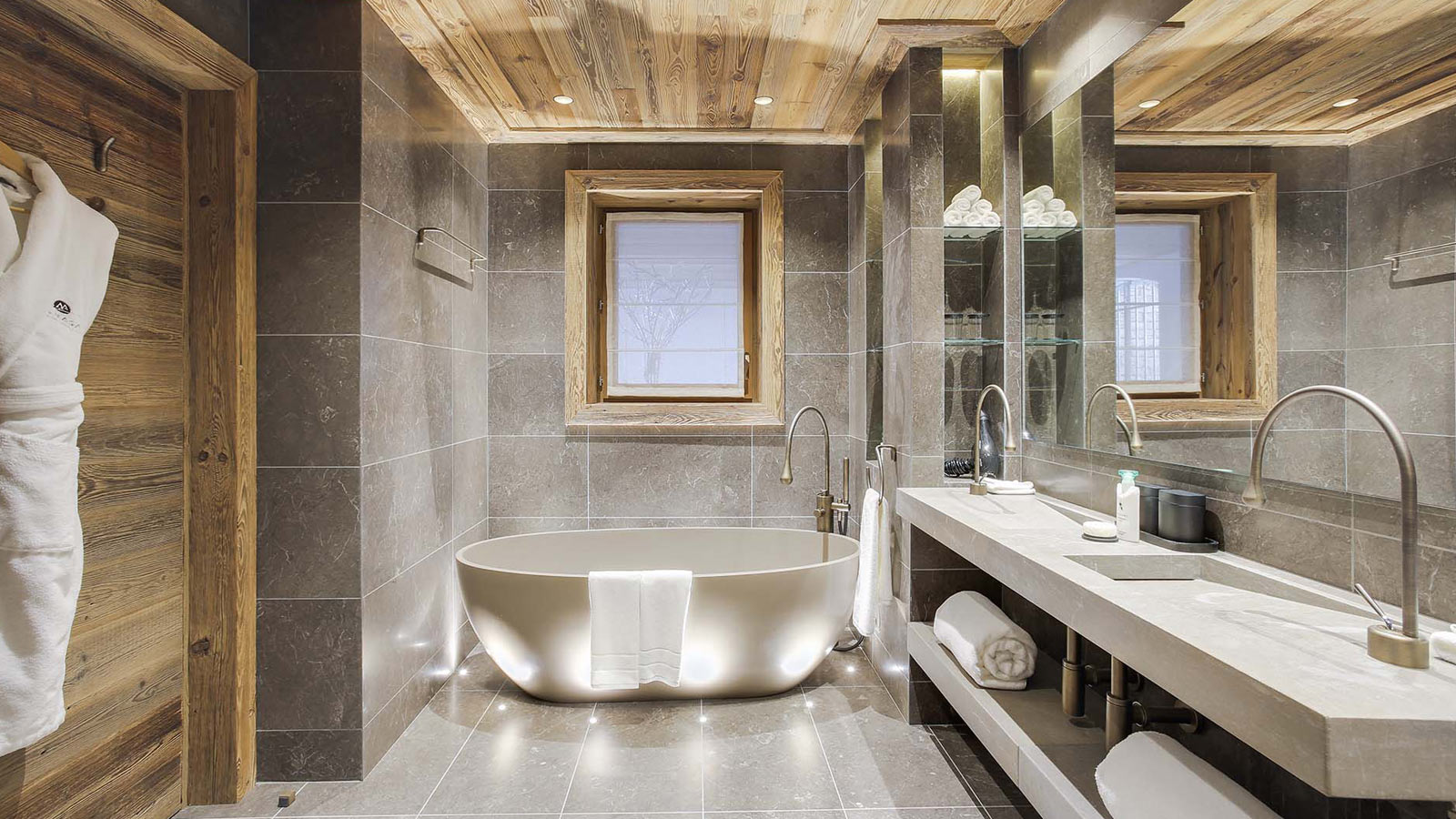 Comfort leads the way in a chalet in Courchevel