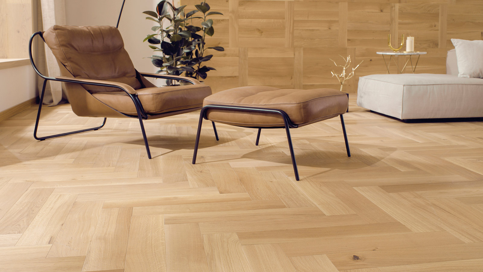 Herringbone flooring, a timeless classic approach to laying floors