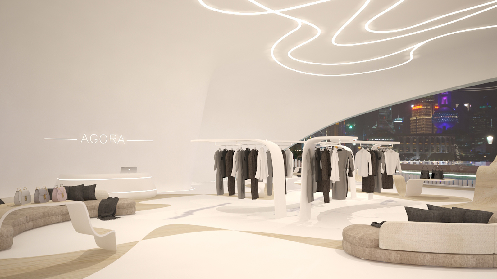 The 12th Porcelanosa Awards Finalists: Ágora, a luxury boutique in New York