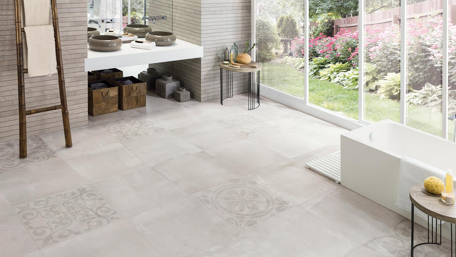 Guide for cleaning ceramic tiles
