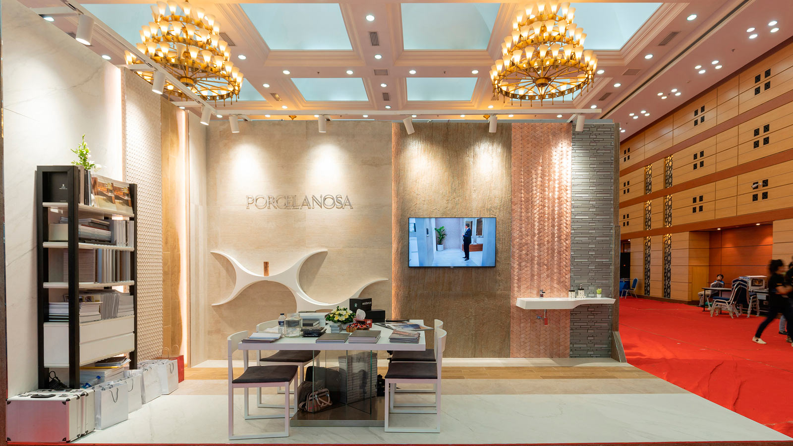 "PORCELANOSA Bangladesh awarded ""Best Stall"" in IAB Build Expo 2019"