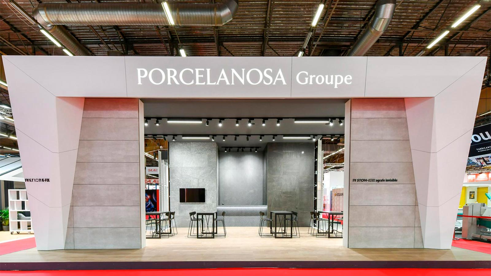 More design with less artifice, the main concept from PORCELANOSA Grupo at the Batimat exhibition fair in Paris