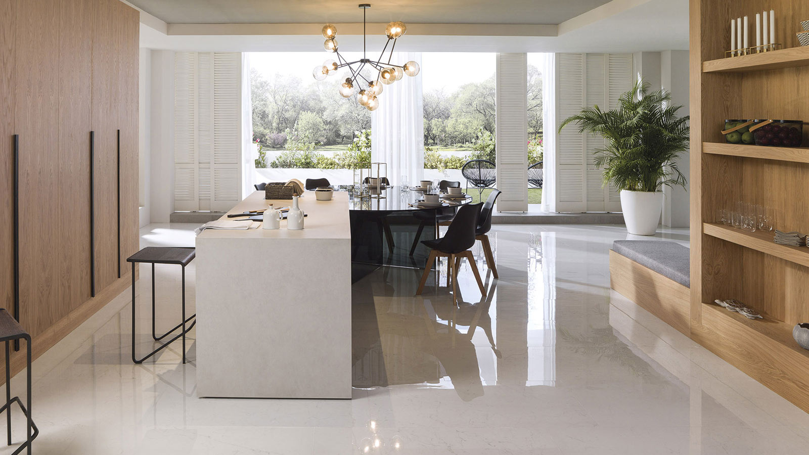 Premium kitchens with the PORCELANOSA Grupo seal