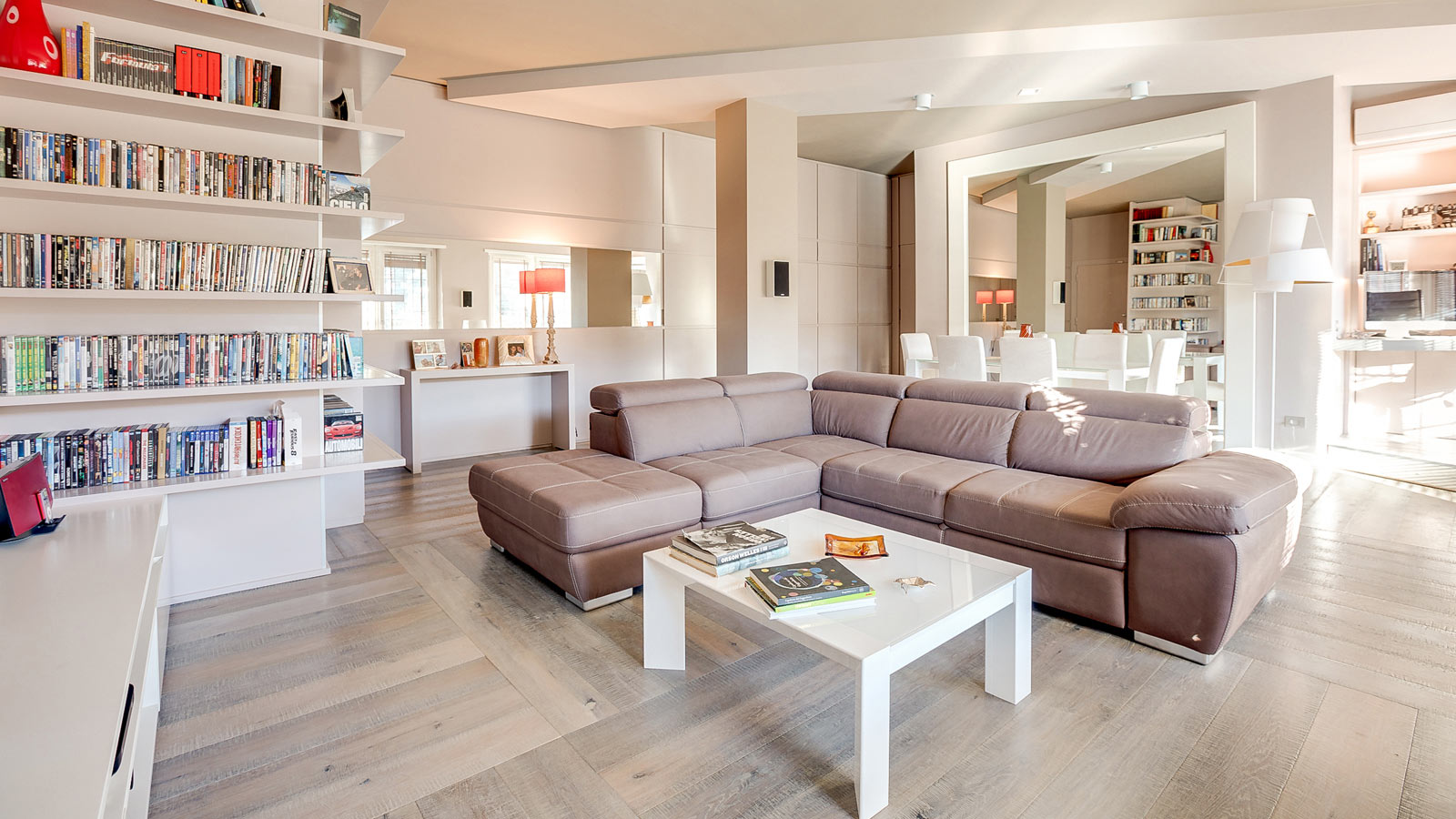 PORCELANOSA Grupo Projects: An incredible apartment in the centre of Rome