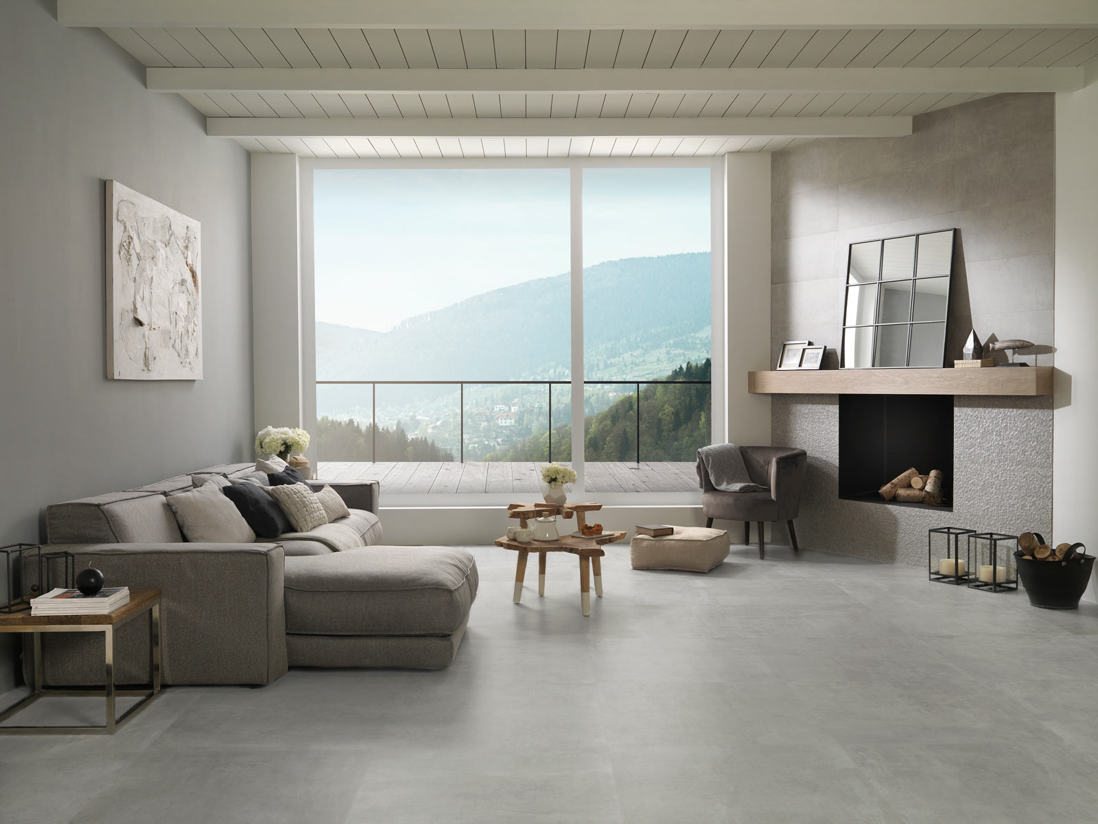 Tips for designing cosy rooms with PORCELANOSA Group collections ...