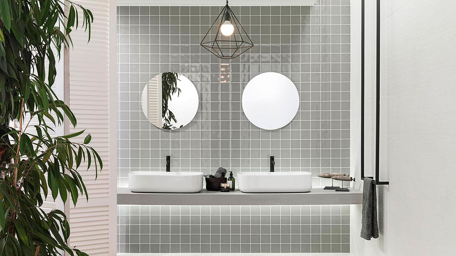 Grey and white bathrooms: The timeless appeal of a classic colour combination