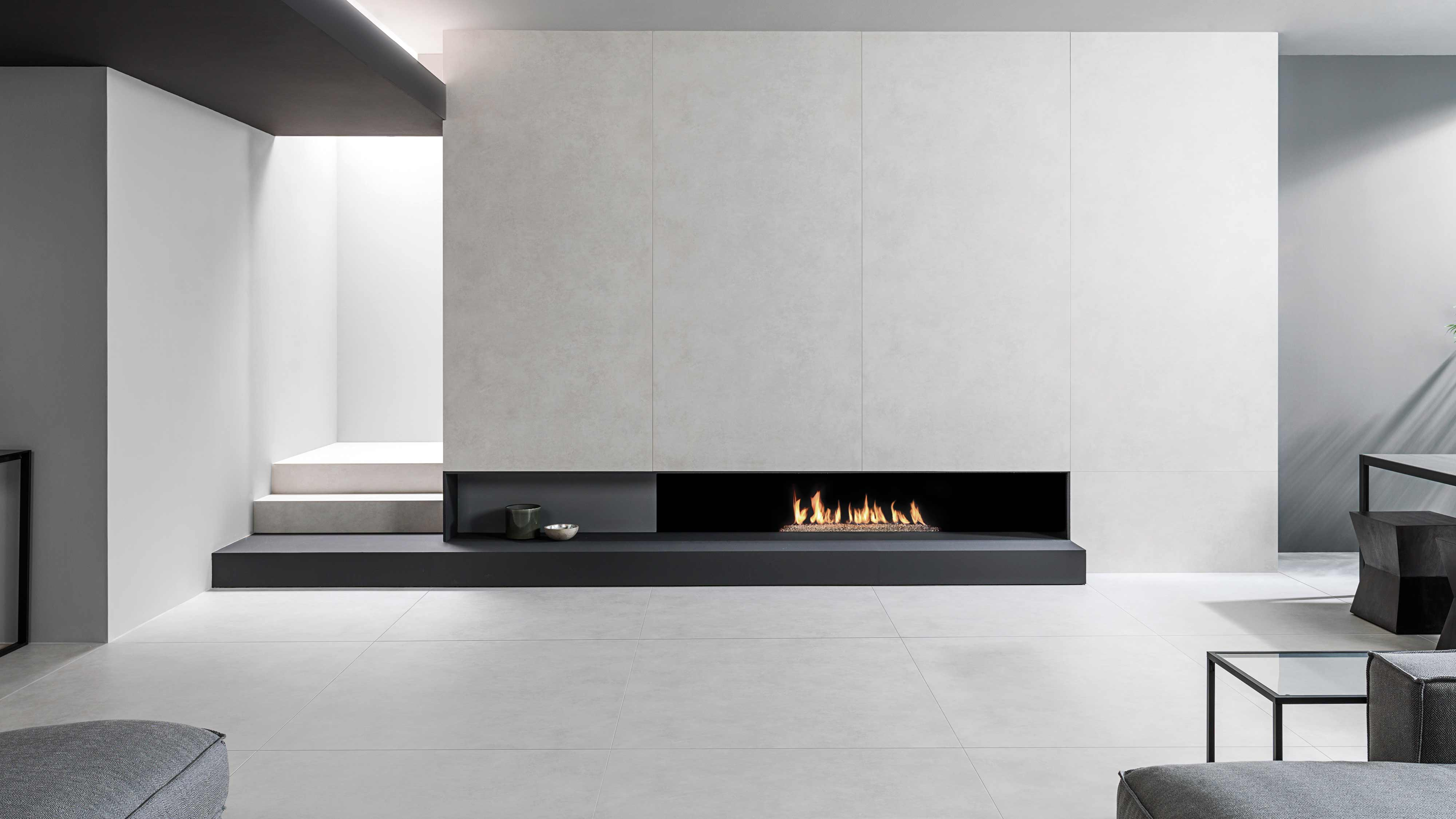 Fireplace tiles; a practical and attractive solution