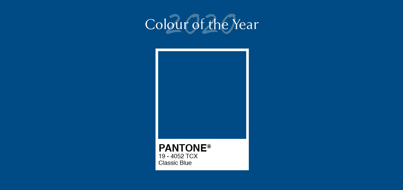 Image result for pantone colour of the year 2020